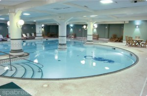 Dunston Hall Pool Area