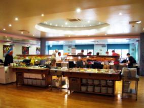 River Bank Restaurant buffet bar