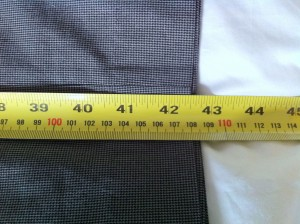 Trouser Leg Measurement